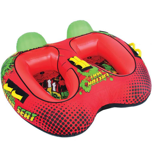 TestPilot Ejector Seat 2 Inflatable Towable Tube - Test Pilot - Air Kayaks Direct