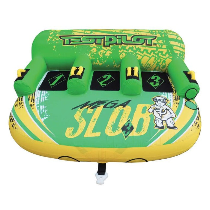 TestPilot Mega Slob 3 Inflatable Towable Tube - Test Pilot - Air Kayaks Direct