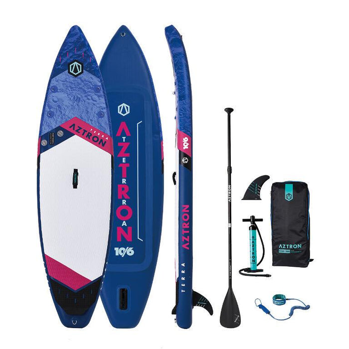 "Aztron Terra 10'6"" Inflatable SUP Paddleboard Deluxe Bundle - Aztron - Air Kayaks Direct"