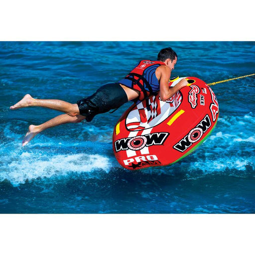 WOW Ace Racing Inflatable Towable Tube - 1P - WOW - Air Kayaks Direct