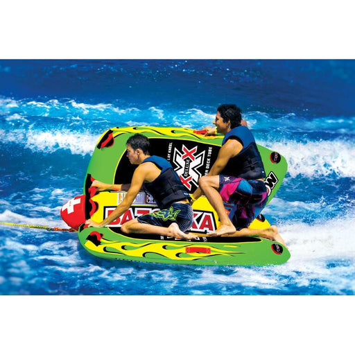 WOW Big Bazooka Inflatable Towable Tube - 4P - WOW - Air Kayaks Direct