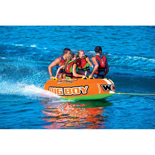 WOW Big Boy Racing Inflatable Towable Tube - 4P - WOW - Air Kayaks Direct