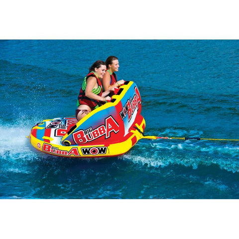 WOW Big Bubba Inflatable Towable Tube - 2P
