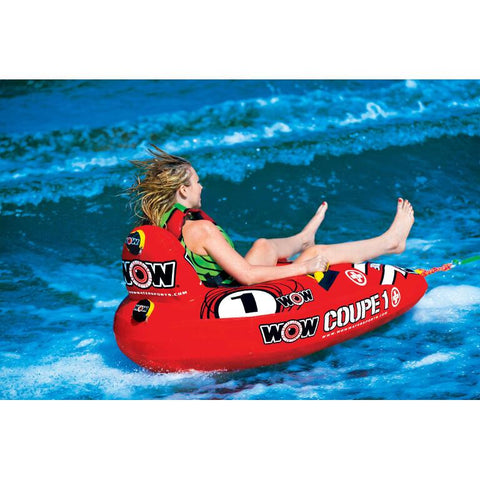 WOW 1P Coupe Cockpit Inflatable Towable Tube