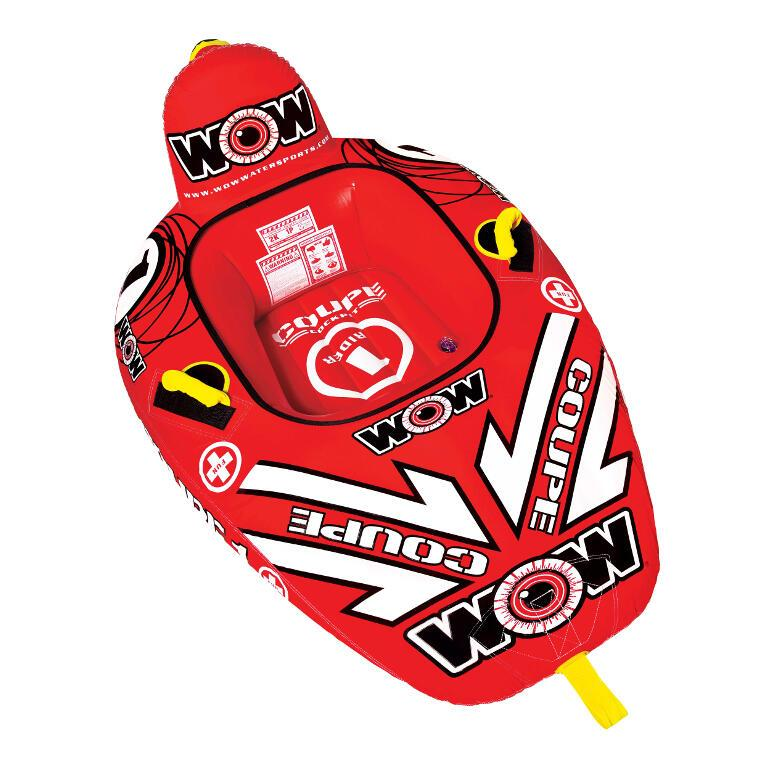 WOW 1P Coupe Cockpit Inflatable Towable Tube - WOW - Air Kayaks Direct