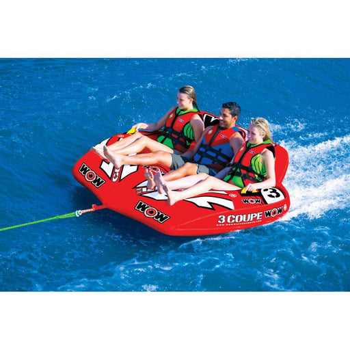 WOW 3P Coupe Cockpit Inflatable Towable Tube - WOW - Air Kayaks Direct