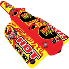 WOW Hot Sauce Inflatable Towable Tube - 2P