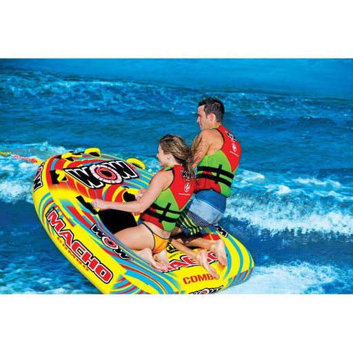 WOW Macho Inflatable Towable Tube - 2P - WOW - Air Kayaks Direct