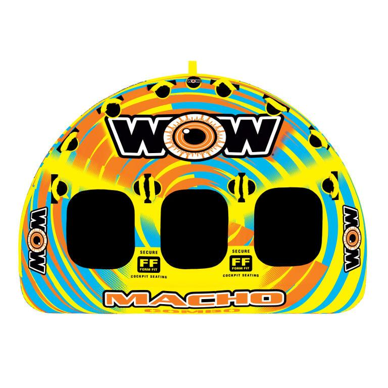 WOW Macho Inflatable Towable Tube - 3P - WOW - Air Kayaks Direct
