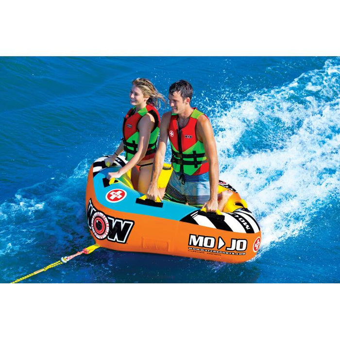 WOW Mojo Inflatable Towable Tube - 2P - WOW - Air Kayaks Direct