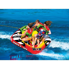 WOW Mojo Inflatable Towable Tube - 3P