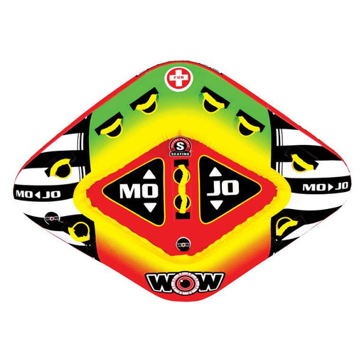 WOW Mojo Inflatable Towable Tube - 3P - WOW - Air Kayaks Direct