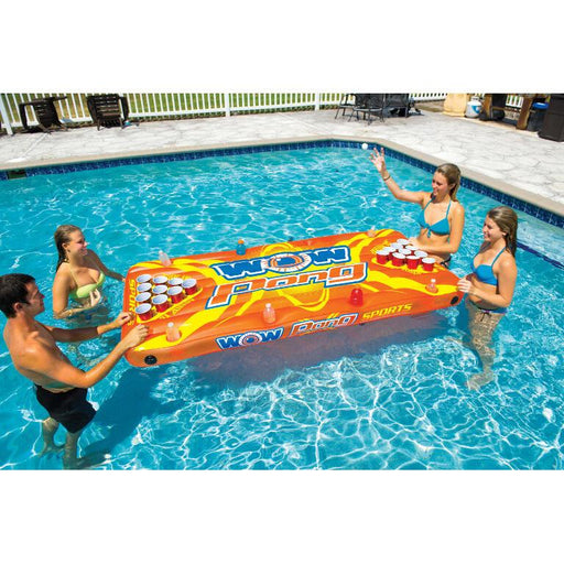 WOW Pong Table Inflatable Float - WOW - Air Kayaks Direct