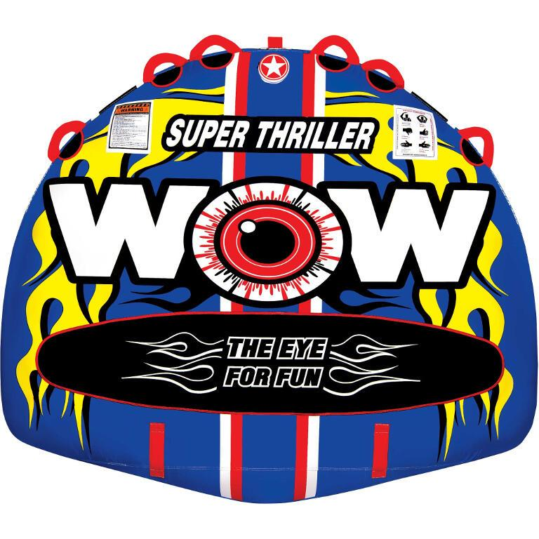 WOW Super Thriller Inflatable Towable Tube - 3P - WOW - Air Kayaks Direct