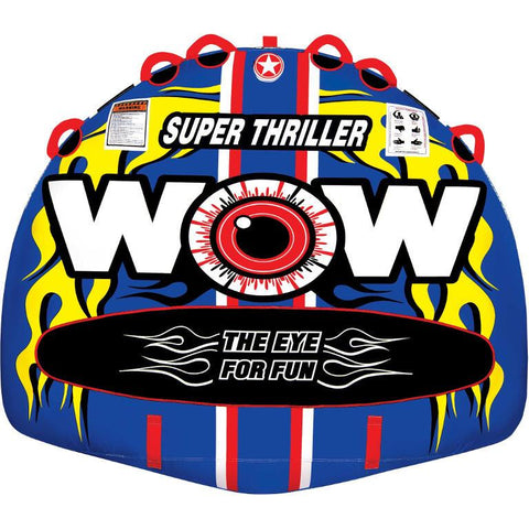 WOW Super Thriller Inflatable Towable Tube - 3P