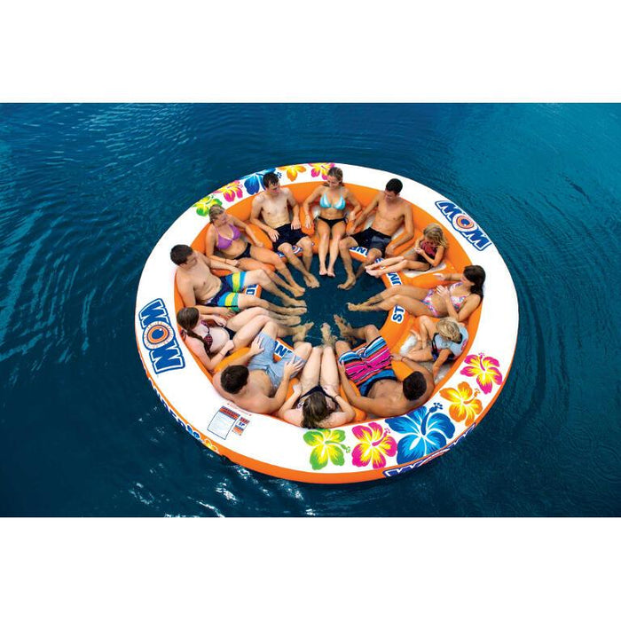 WOW Stadium Islander-12 Person Inflatable Lounge - WOW - Air Kayaks Direct