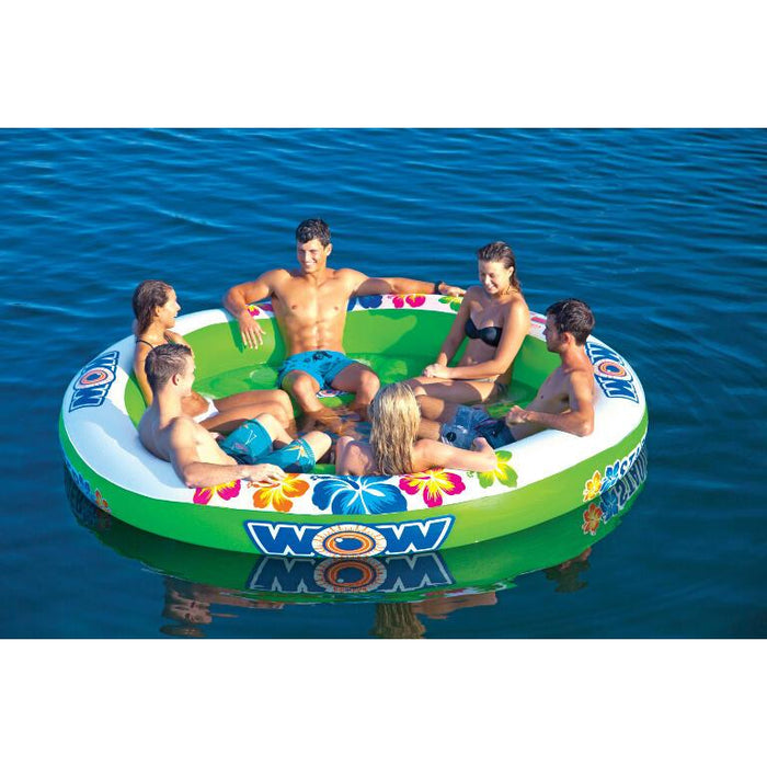 WOW Stadium Islander-6 Person Inflatable Lounge - WOW - Air Kayaks Direct