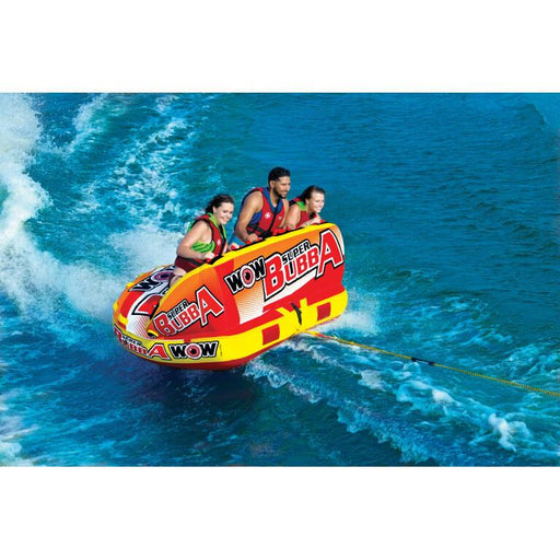 WOW Super Bubba Inflatable Towable Tube - 3P - WOW - Air Kayaks Direct