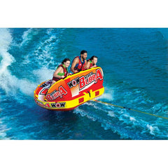 WOW Super Bubba Inflatable Towable Tube - 3P