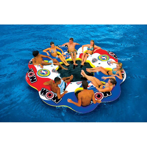 WOW Tube A Rama 10-Person Inflatable Lounge - WOW - Air Kayaks Direct