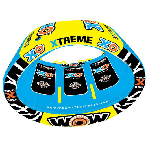 WOW Xo Xtreme Inflatable Towable Tube - 3P - WOW - Air Kayaks Direct