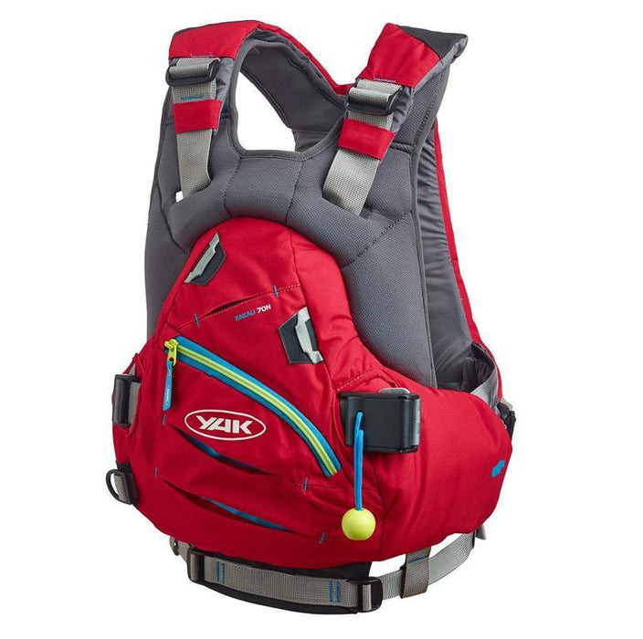 Yak Rakau 70N Whitewater Buoyancy Aid PFD Vest - Red - Yak - Air Kayaks Direct