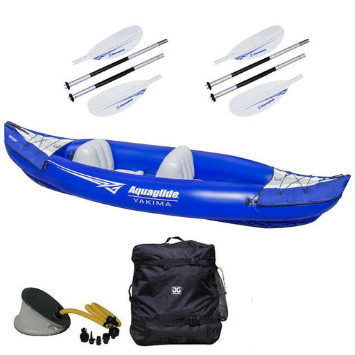 Aquaglide Yakima 2-Person Inflatable Kayak Deluxe Package - Aquaglide - Air Kayaks Direct