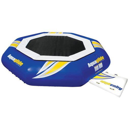 Aquaglide Supertramp Inflatable Trampoline Bouncer - 17ft - Air Kayaks Direct