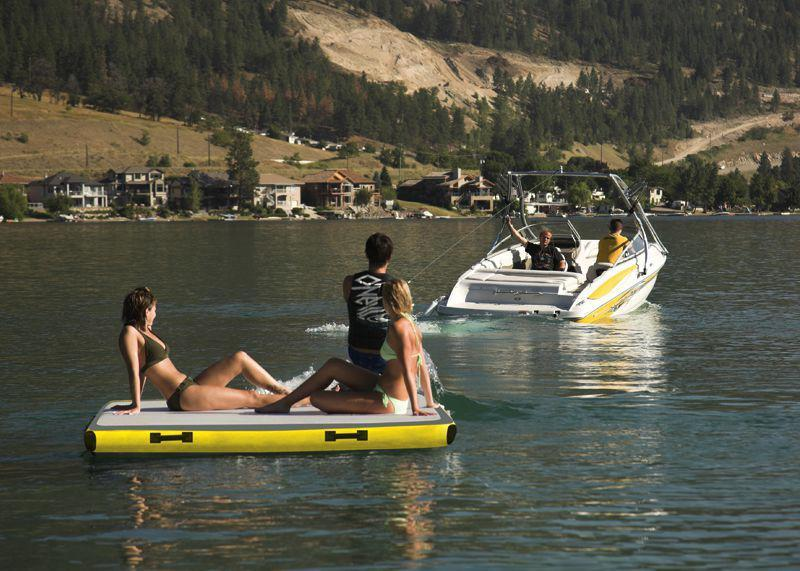 Walker Bay Airis AirDock™ Inflatable Boat Dock - 2.1m x 2m - Air Kayaks Direct