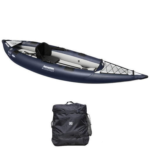 Aquaglide Blackfoot HB Angler 3.35m 1 Person Fishing Inflatable Kayak - Aquaglide - Air Kayaks Direct