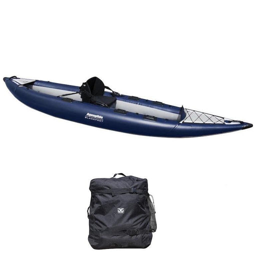 Aquaglide Blackfoot 125 HB Angler XL 1-2 Person Inflatable Kayak - Aquaglide - Air Kayaks Direct