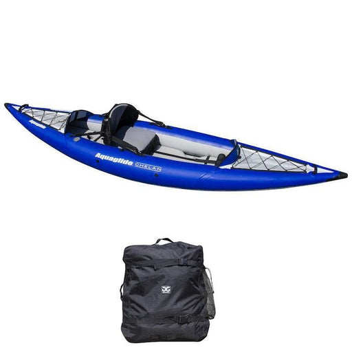 Aquaglide Chelan 120 HB 1 Person Touring Inflatable Kayak - Aquaglide - Air Kayaks Direct