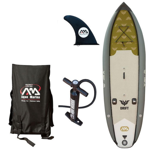 "Aqua Marina Drift Fishing 10' 10"" Inflatable SUP Paddleboard - Aqua Marina - Air Kayaks Direct"