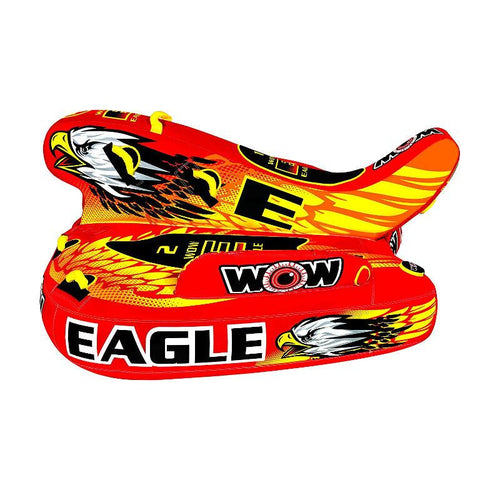 WOW Eagle 1-3P Inflatable Towable Tube