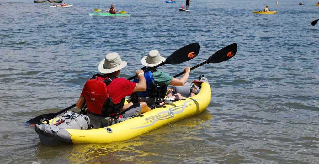 Advanced Elements StraitEdge2 2-Person Inflatable Kayak - Air Kayaks Direct
