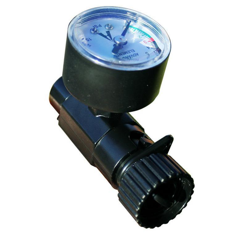 Advanced Elements Inline Valve Adaptor Gauge - Spring Valve - 15PSI - Advanced Elements - Air Kayaks Direct