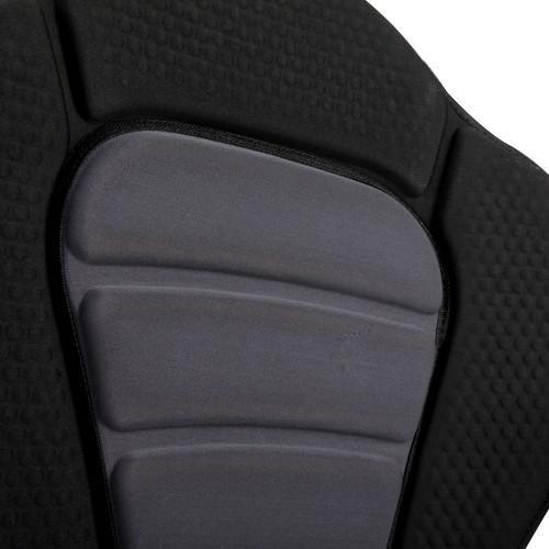 Adjustable Kayak Padded Seat w/ Bag - Grey Black - Air Kayaks Direct - Air Kayaks Direct