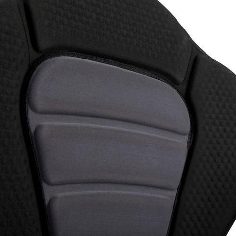 Adjustable Kayak Padded Seat w/ Bag - Grey Black