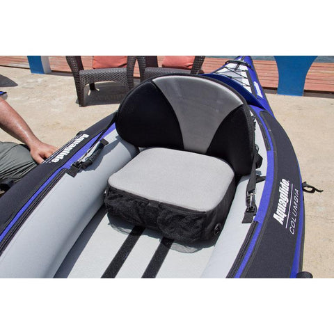 Aquaglide Pro-Formance Inflatable Kayak Seat for Fishing