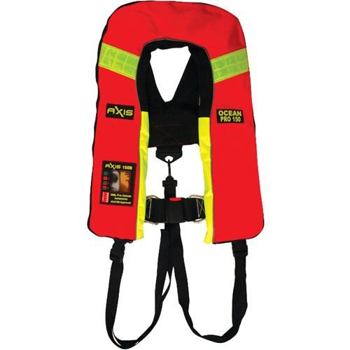 AXIS Ocean Pro 200N Inflatable Life Jacket PFD - Auto - AXIS - Air Kayaks Direct