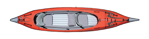 Advanced Elements Single Deck Conversion Cover for Convertible Kayak