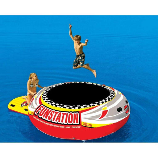 Sportsstuff Funstation 12ft Inflatable Trampoline - Sportsstuff - Air Kayaks Direct