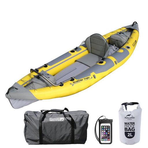 Advanced Elements StraitEdge Angler Inflatable Fishing Kayak - Advanced Elements - Air Kayaks Direct