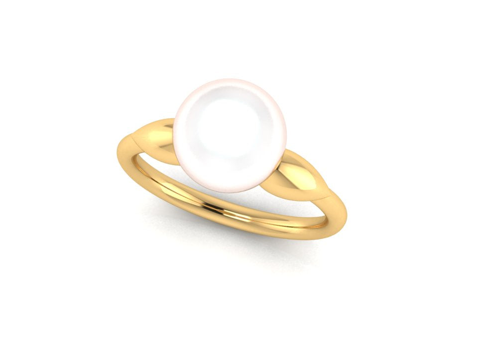 Custom Pearl Ring - Megan