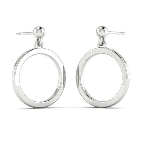 Silver Circlet Earrings