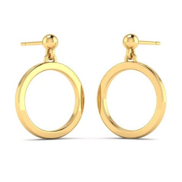 Gold Circlet Earrings