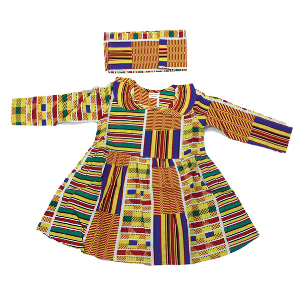 Children's Kente Dress #1