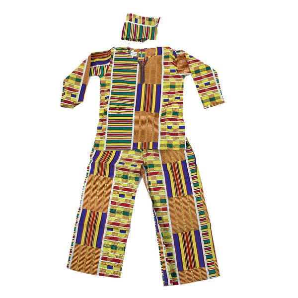 Children's Kente Pant Set #1
