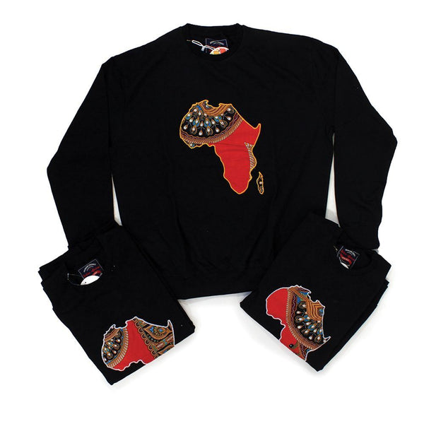 Set Of 3 Assorted Africa Sweatshirts