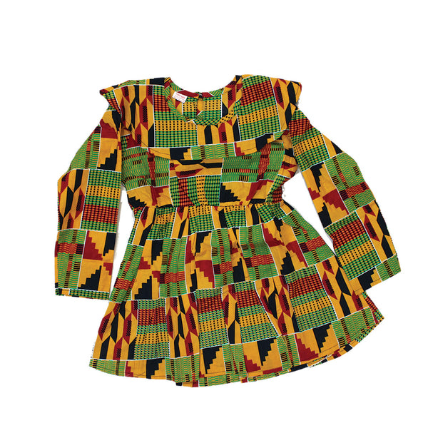 Children's Kente #2 Dress
